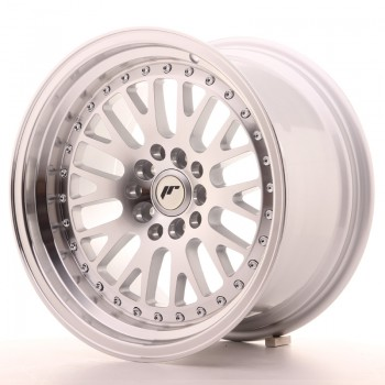 JR Wheels JR10 16x9 ET20 4x100/108 Silver Machined Face JR10 16