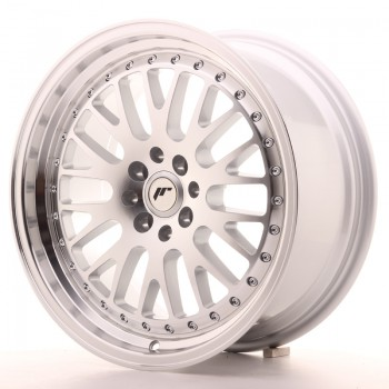 JR Wheels JR10 17x8 ET35 4x100/114 Silver Machined Face JR10 17