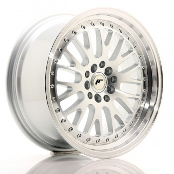 JR Wheels JR10 17x8 ET35 5x100/114 Silver Machined Face JR10 17