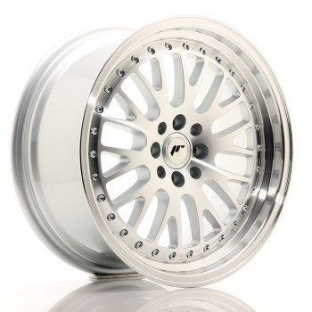 JR Wheels JR10 17x8 ET20 4x100/108 Silver Machined Face JR10 17