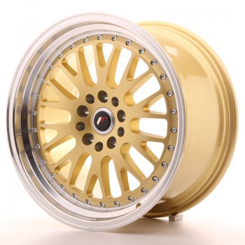 JR Wheels JR10 18x9,5 ET35 5x100/120 Gold w/Machined Lip JR10 18