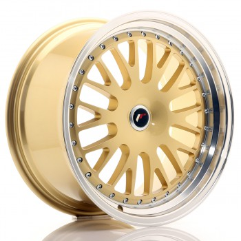 JR Wheels JR10 19x9,5 ET20-35 BLANK Gold w/Machined Lip JR10 19