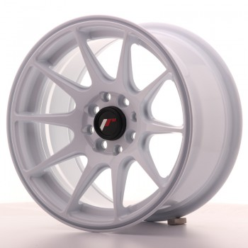 JR Wheels JR11 15x8 ET25 4x100/114 White JR11 15