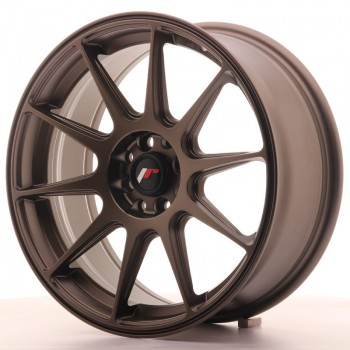 JR Wheels JR11 17x7,25 ET35 4x100/114.3 Matt Bronze JR11 17