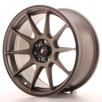 JR Wheels JR11 17x8,25 ET35 4x100/114.3 Matt Bronze JR11 17