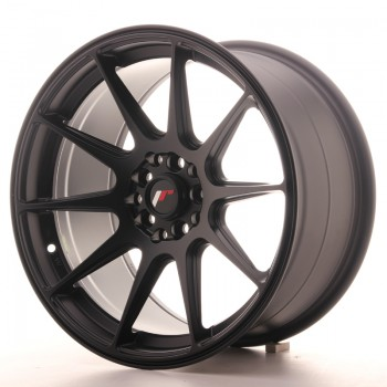 JR Wheels JR11 17x9 ET20 4x100/114 Matt Black JR11 17