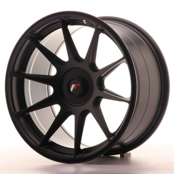 JR Wheels JR11 17x9 ET25-35 BLANK Matt Black JR11 17