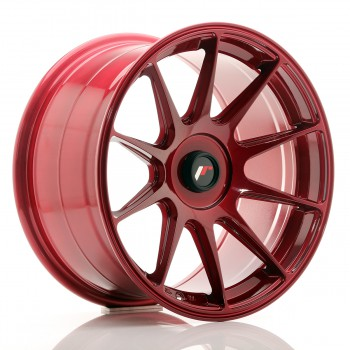 JR Wheels JR11 17x9 ET25-35 BLANK Platinum Red JR11 17