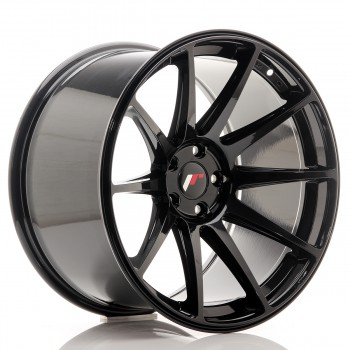 JR Wheels JR11 19x11 ET25 5x112 Glossy Black JR11 19