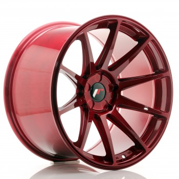 JR Wheels JR11 19x11 ET25 5H BLANK Platinum Red JR11 19