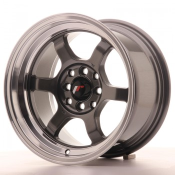 JR Wheels JR12 15x8,5 ET13 4x100/114 Gun Metal w/Machined Lip JR12 15