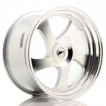 JR Wheels JR15 19x10 ET35 BLANK Silver Machined Face JR15 19