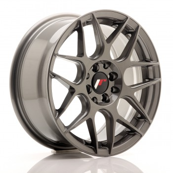 JR Wheels JR18 16x7 ET35 4x100/114.3 Gun Metal JR18 16