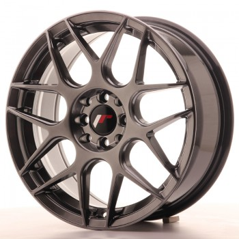 JR Wheels JR18 17x7 ET40 4x100/114 Hyper Black JR18 17