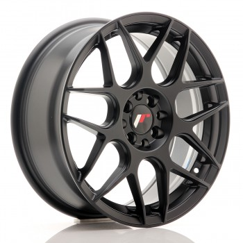 JR Wheels JR18 17x7 ET40 4x100/108 Matt Black JR18 17