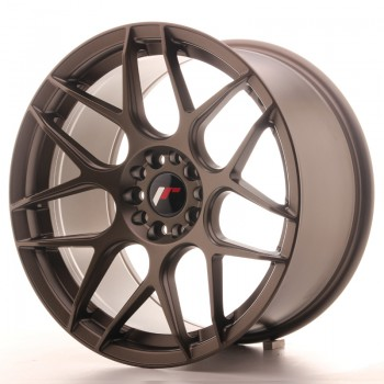 JR Wheels JR18 18x9,5 ET40 5x112/114 Matt Bronze JR18 18