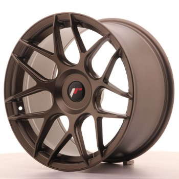 JR Wheels JR18 18x9,5 ET20-43 BLANK Matt Bronze JR18 18